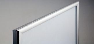 LED-Leuchtrahmen inkl. Fotodruck auf Backlit-Folie