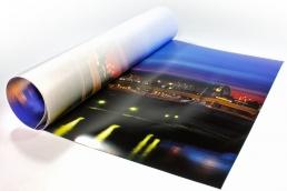 Fotodruck auf Backlit-Folie zum Hinterleuchten