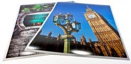Premiumfotodruck auf HP Fotopapier 260 g/qm in seidenmatt oder glänzend