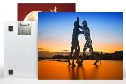 Fotodruck auf Alu Dibondplatte aufkaschiert