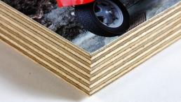 Foto auf Holz, auf Multiplexplatte in 23 x 15 cm
