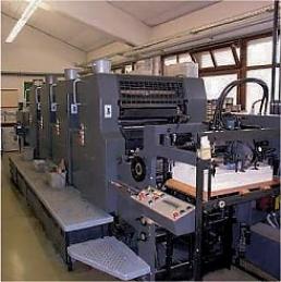 Plakate ab 100 Stück in A3, A2, A1 oder A0 im Offsetdruck gedruckt